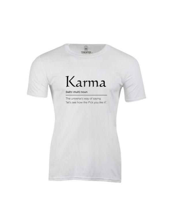 Tričko pánské Karma
