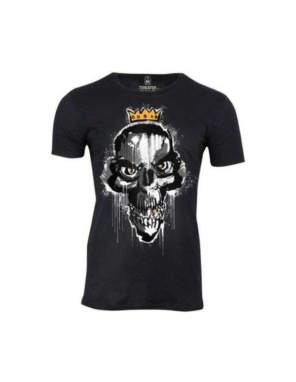 Tričko pánské Lazy Skull