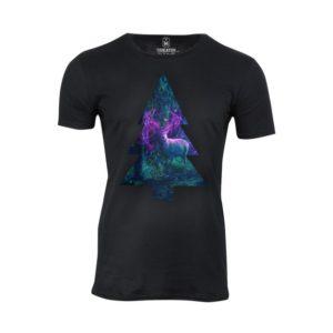 Tričko pánské Na Vánoce v lese