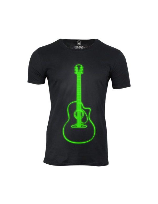 Tričko pánské Neon Guitar