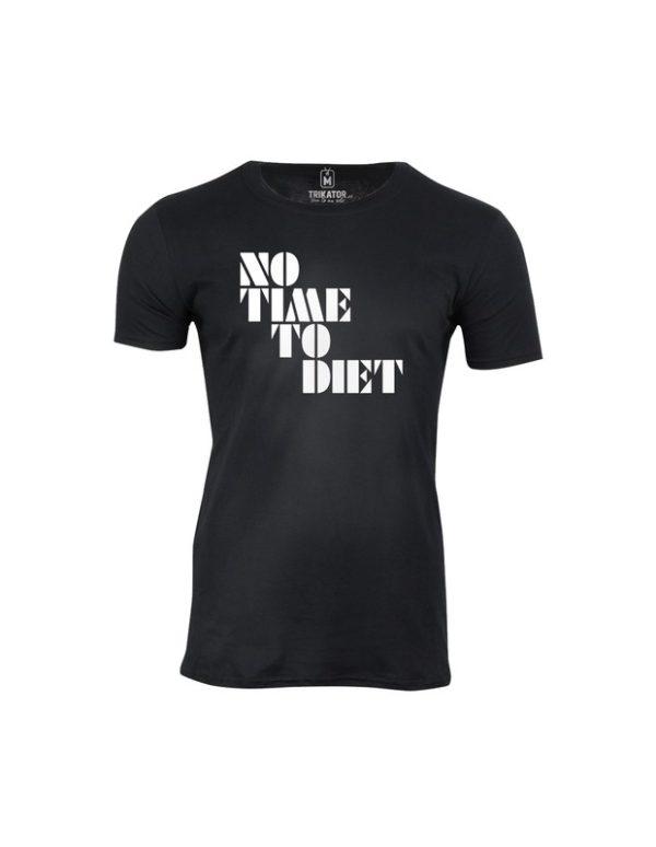Tričko pánské No Time To Diet