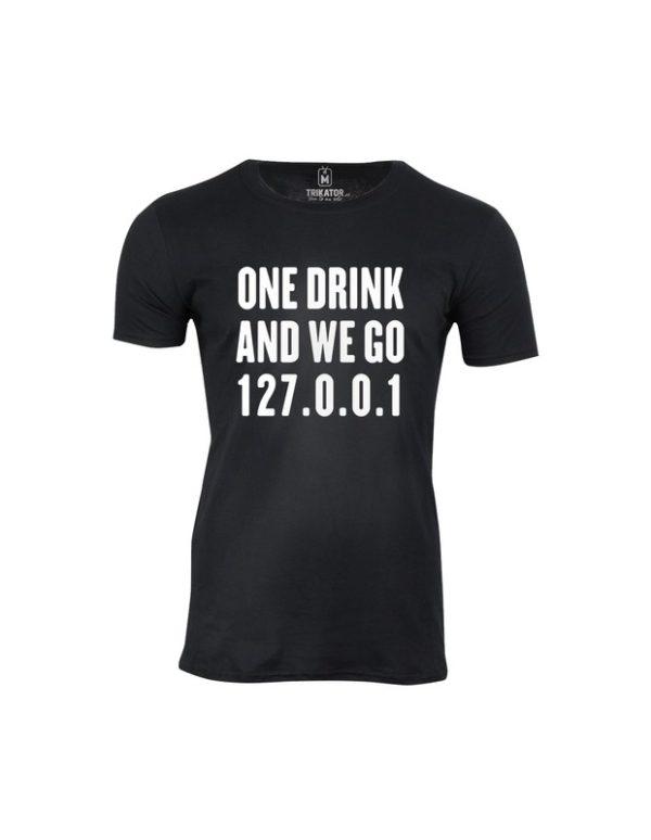 Tričko pánské One Drink