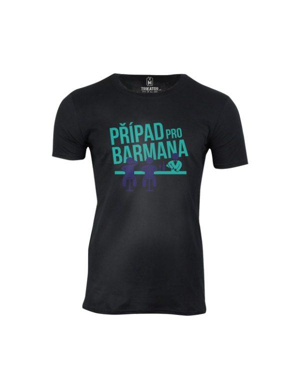 Tričko pánské Případ pro barmana
