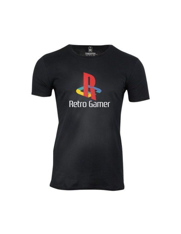 Tričko pánské Retro hráči