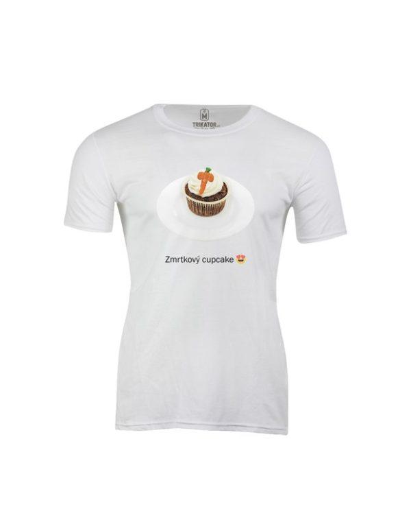 Tričko pánské Zmrtkový cupcake