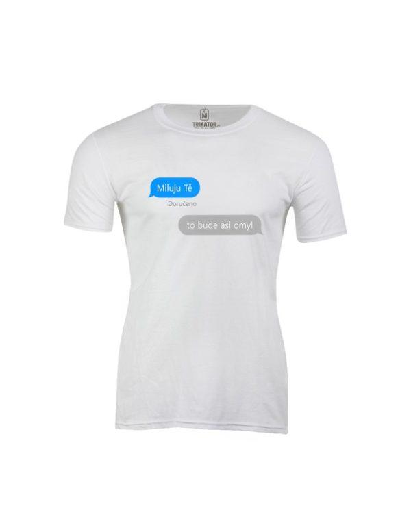 Tričko pánské iMessage