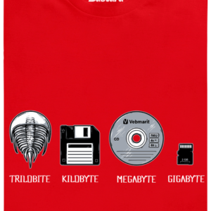 Trilobite červené pánské tričko