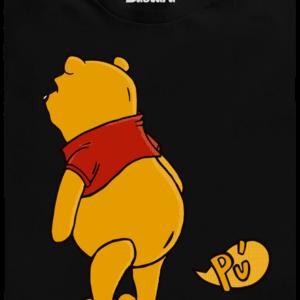 Ups černé pánské tričko