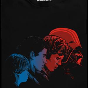 Vaders evolution pánské tričko