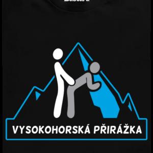 Vysokohorská přirážka pánské tričko