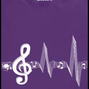 Žiju muzikou dětské tričko
