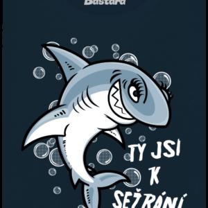 Žraločice modré dámské tričko