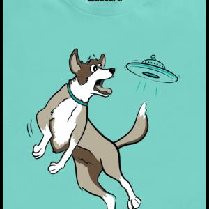 Létající talíř pánské tričko