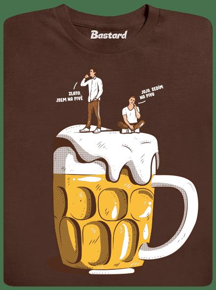 Na pivě pánské tričko