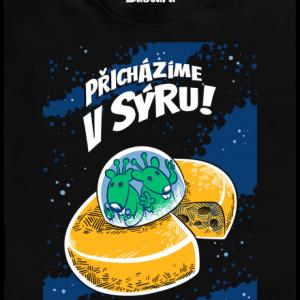 Přicházíme v sýru dětské tričko