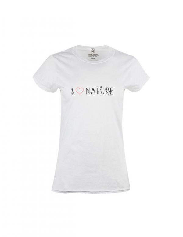Tričko dámské I love Nature