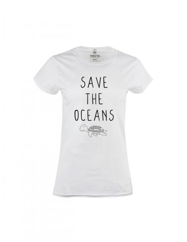 Tričko dámské Save the Ocean