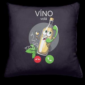 Bílé víno volá polštář