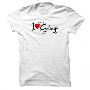 Cyklistické tričko I Love Cycling pro muže