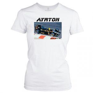 Dámské F1 tričko Ayrton 1985