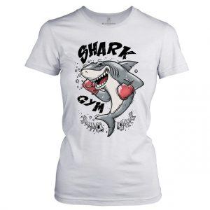 Dámské Fitness tričko Shark gym