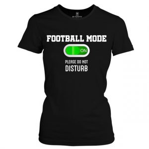 Dámské Fotbalové tričko Football mode on