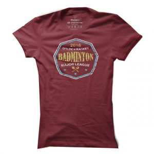 Dámské badmintonové tričko Major League