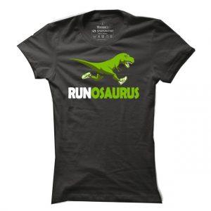 Dámské běžecké tričko Runosaurus