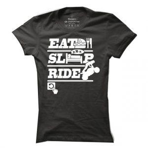 Dámské bikerské tričko Biker´s day