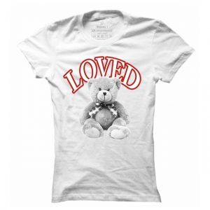 Dámské casual tričko Teddy love