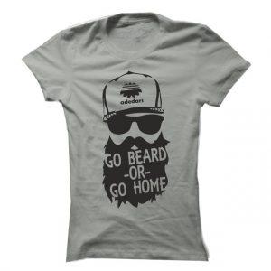 Dámské fitness tričko Go Beard -OR- Go Home