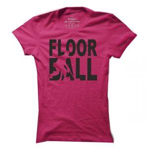 Dámské floorballové tričko Floorball
