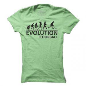 Dámské florbalové tričko Floorball evoluce