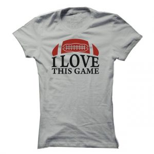 Dámské fotbalové tričko Love American Football