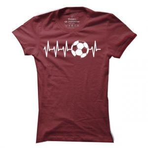 Dámské fotbalové tričko Tep Football
