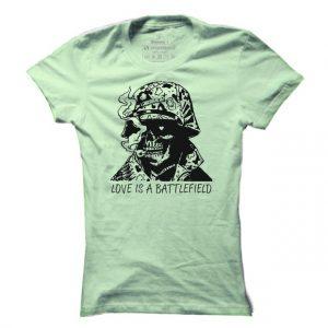 Dámské gamingové tričko Undead Soldier