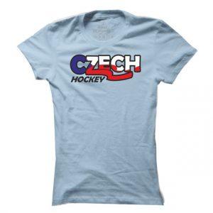 Dámské hokejové tričko Czech hockey