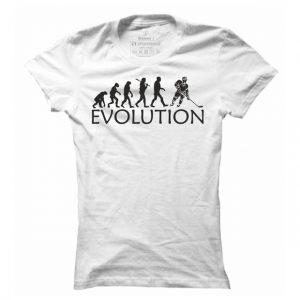 Dámské hokejové tričko Hokej evoluce