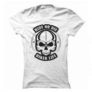 Dámské moto tričko Ride or die