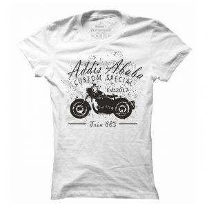 Dámské motorkářské tričko Addis Ababa