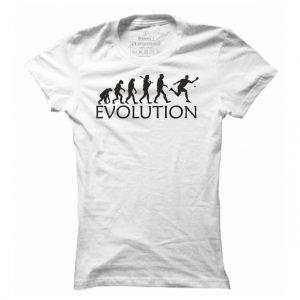 Dámské pingpongové tričko Ping pong evoluce