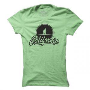 Dámské surfové tričko California