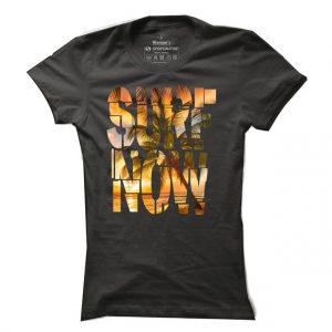 Dámské surfové tričko Surf Now