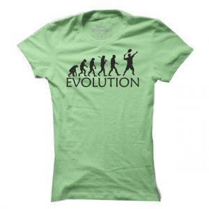 Dámské tenisové tričko Tenis evoluce