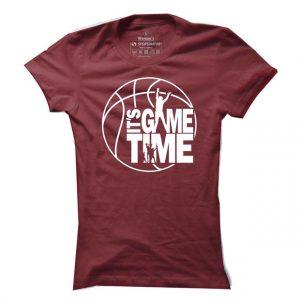 Dámské tričko na basketbal It´s game time