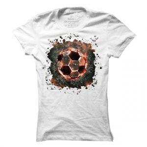 Dámské tričko na fotbal Lava Ball