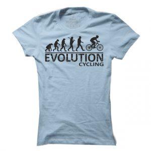 Dámské tričko na kolo Cyklo evoluce