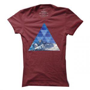 Dámské tričko na lyže Pyramida Ski