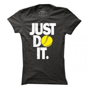 Dámské tričko na tenis Just do it tennis