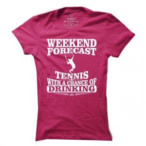 Dámské tričko na tenis Weekend forecast tennis
